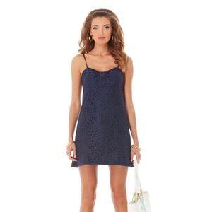 Lilly Pulitzer Dress Size 6 Navy Blue Lace Karina